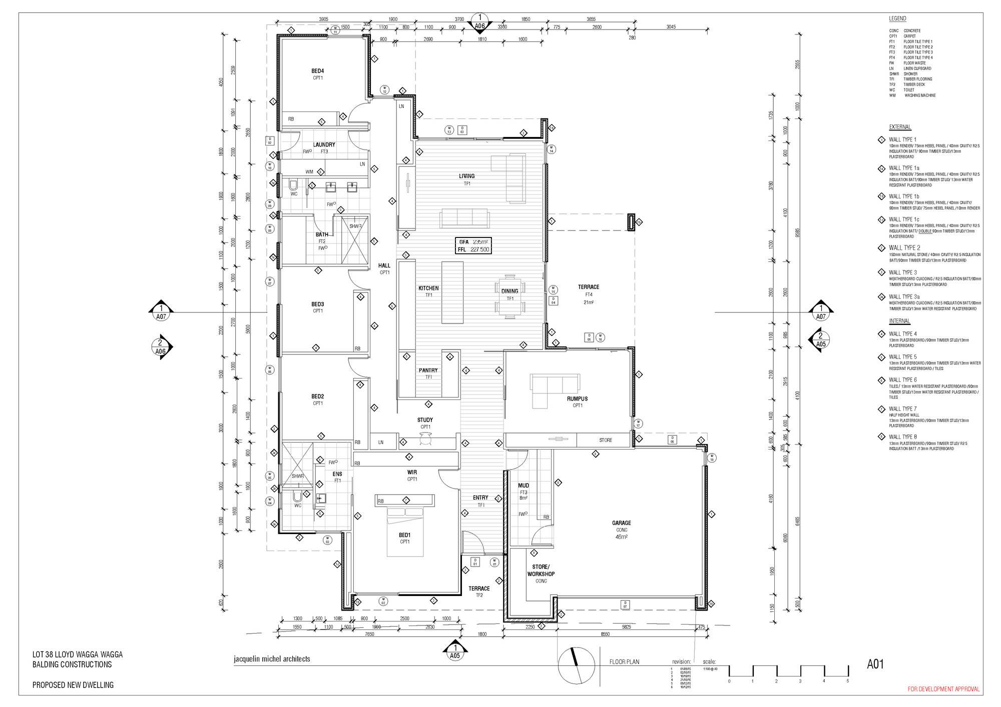 Wagga builder floor plan