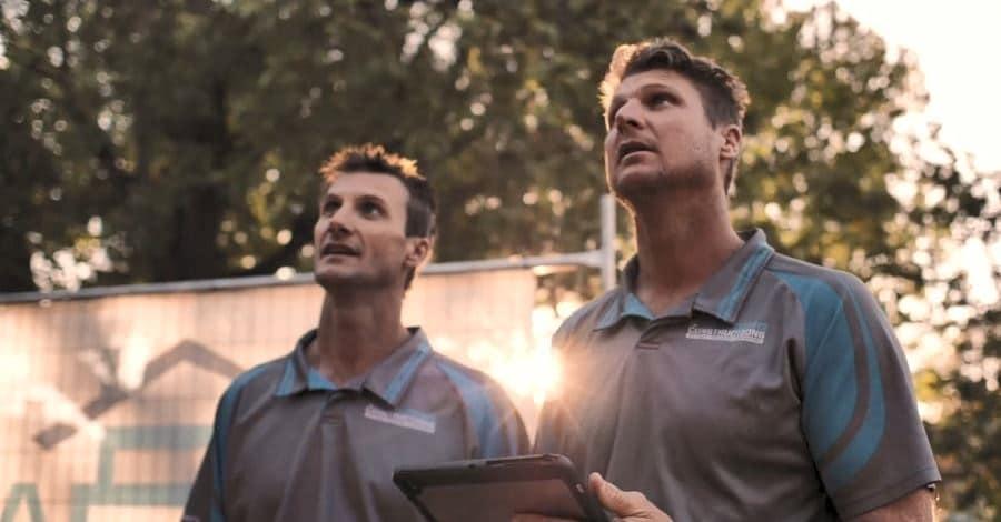 Trent and Mitch the proprietors